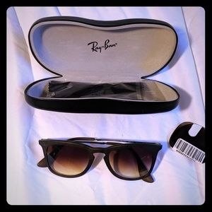 Ray Ban Sunglasses w/ New Lenses and Case